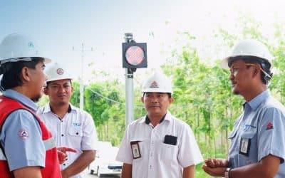 Pabrik Rembang Lakukan Digitalisasi Timbangan Bahan Baku