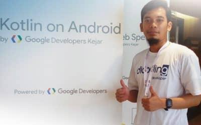 Cerita Abdurrouf Dapatkan Beasiswa dan Sertifikasi Mobile Developer