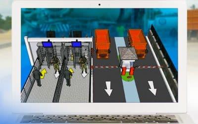 Tingkatkan Keamanan, SISI Lakukan Optimalisasi Gate System Area Pabrik Tuban